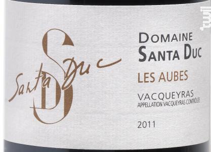 Les Aubes - Domaine Santa Duc - 2017 - Rouge