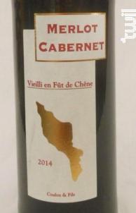 Merlot Cabernet - Vignoble Coulon & fils - 2014 - Rouge