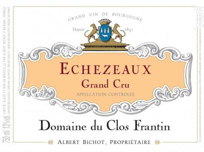 Echézeaux Grand Cru - Domaine du Clos Frantin - Domaines Albert Bichot - 2018 - Rouge