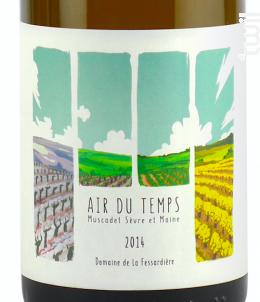Air du Temps - Domaine de la Fessardière - 2014 - Blanc