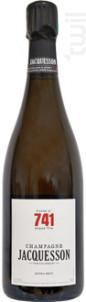 741 Jacquesson - Champagne Jacquesson - Non millésimé - Effervescent