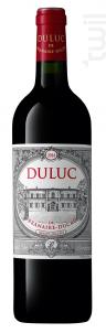 Duluc de Branaire-Ducru - Château Branaire-Ducru - 2014 - Rouge