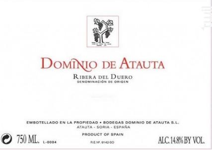 DOMINIO DE ATAUTA - Dominio De Atauta - 2004 - Rouge