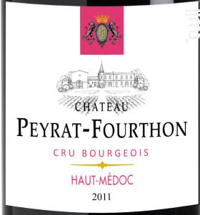 Château Peyrat-Fourthon - Château Peyrat-Fourthon - 2011 - Rouge