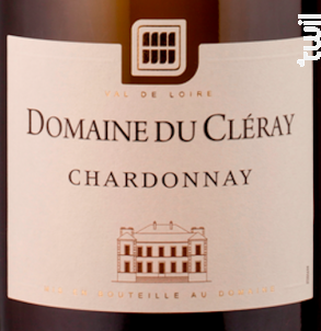 Chardonnay Domaine du Cléray - SAUVION - CHATEAU DU CLERAY - 2017 - Blanc