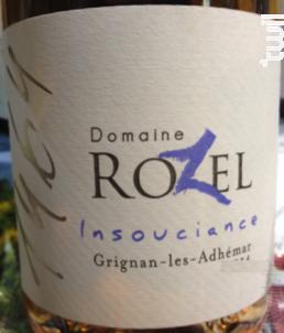 Insouciance - Domaine Rozel - 2018 - Rosé
