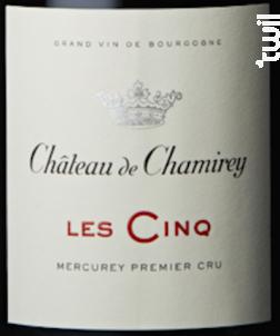 Les Cinq - Château de Chamirey - 2012 - Rouge
