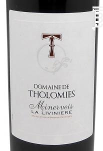 Minervois La Livinière - Domaine de Tholomies - 2016 - Rouge