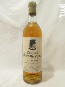 Château Jean-gervais - L.C. Cournilh & Fils - Château Jean Gervais - 1971 - Blanc