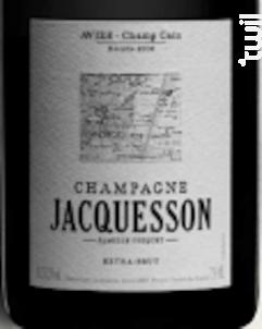 Cuvée AVIZE-Champ Caïn - Champagne Jacquesson - 2008 - Effervescent