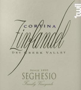 Cortina - Zinfandel - SEGHESIO - 2013 - Rouge