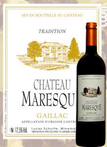 Château Maresque Tradition - Château Maresque - 2014 - Rouge