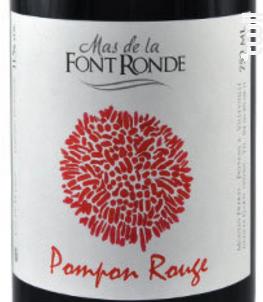 Pompon Rouge - Mas de la Font Ronde-Vincent Moulin - Non millésimé - Rouge