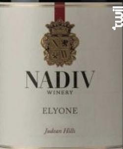 Elyone Reserve - Nadiv - 2014 - Rouge