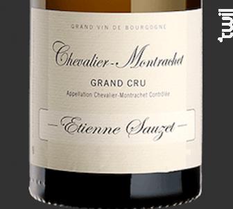 CHEVALIER MONTRACHET - Domaine Etienne Sauzet - 2015 - Blanc