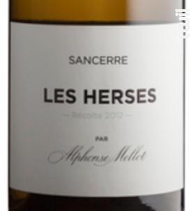 Les Herses - Alphonse Mellot - 2016 - Blanc