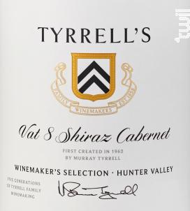 VAT 8 - SHIRAZ CABERNET - TYRRELL'S WINES - 2018 - Rouge