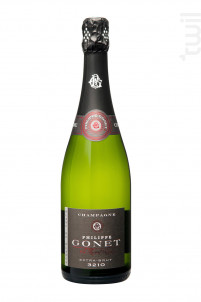 3210 Extra-Brut - Blanc de Blancs - Champagne Philippe GONET - Non millésimé - Effervescent