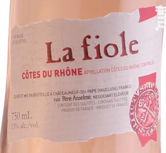 La Fiole Côtes du Rhône - Maison Brotte - La Fiole du Pape - 2017 - Rosé