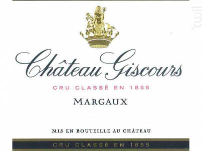 Château Giscours - Château Giscours - 2017 - Rouge