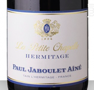 La Petite Chapelle - Paul Jaboulet Aîné - 2013 - Rouge