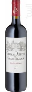 Château Dutruch Grand Poujeaux - Château Dutruch Grand Poujeaux - 2012 - Rouge