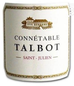 Connétable Talbot - Château Talbot - 2013 - Rouge
