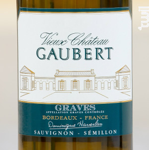 Vieux Château Gaubert - Vignobles  Haverlan - 2018 - Blanc