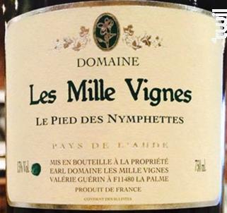 Le Pied Des Nymphettes - Domaine Les Mille Vignes - 2013 - Blanc