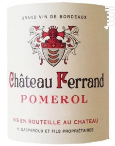 Château Ferrand - Château Ferrand - 2016 - Rouge