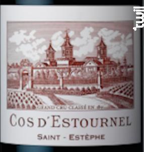 Cos d'Estournel - Cos d'Estournel - 2018 - Rouge