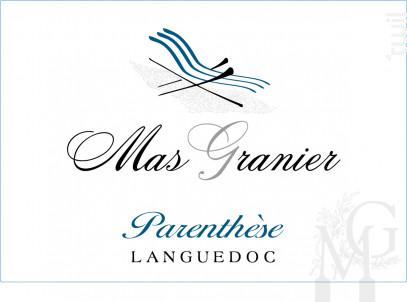 Parenthèse - Domaine du Mas Granier - 2018 - Rosé