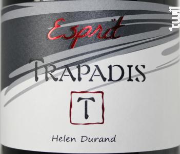 Esprit - Domaine du Trapadis - 2018 - Rouge