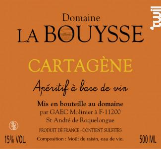 CARTAGENE AMBREE - DOMAINE LA BOUYSSE - Non millésimé - Blanc