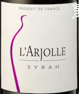 Equilibre Syrah - Domaine de l'Arjolle - 2017 - Rouge