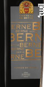 Terres de Berne - Château de Berne - 2016 - Rouge