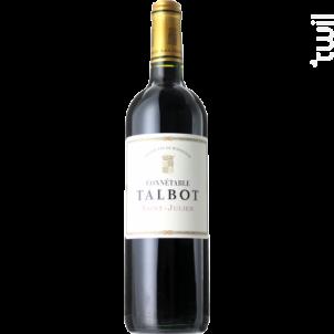 Connétable Talbot - Château Talbot - 2017 - Rouge