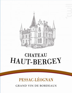 Château Haut-Bergey - Château Haut-Bergey - 2015 - Rouge
