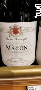 Mâcon - Domaine Maurice Chenu - 2018 - Rouge