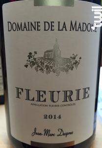 Fleurie Tradition - Domaine de La Madone - 2014 - Rouge