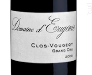 CLOS DE VOUGEOT - Domaine d'Eugénie - 2010 - Rouge