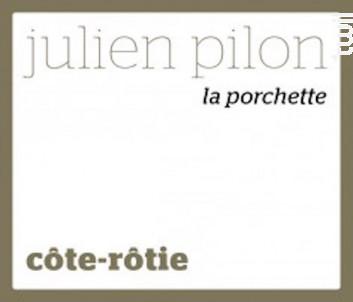 La Porchette - Domaine Julien Pilon - 2018 - Rouge