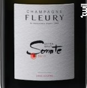 Sonatte - Champagne Fleury - 2011 - Effervescent