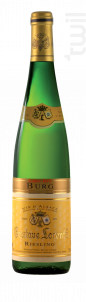 Riesling Lieu-Dit Burg Bio - Gustave Lorentz - 2016 - Blanc