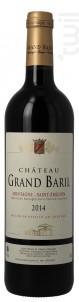 Chateau Grand Baril - Château Grand Baril et Réal Caillou - 2015 - Rouge