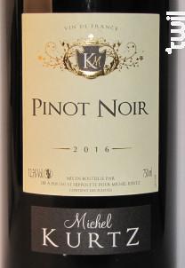 Pinot Noir - Michel Kurtz - 2018 - Rouge