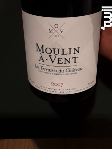 Les Terrasses du Château - Château du Moulin à Vent - 2017 - Rouge