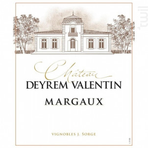 Château Deyrem Valentin - Château Deyrem-Valentin - 2016 - Rouge