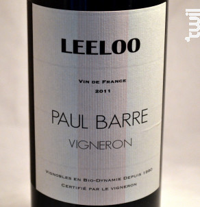 Leeloo - Vignobles Paul Barre - 2017 - Rouge