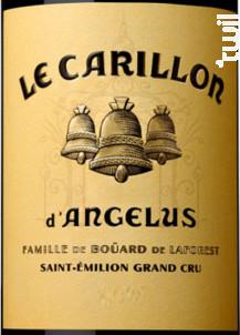 Le Carillon d'Angelus - Château Angélus - 2019 - Rouge